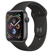 Apple Watch 4 GPS 44mm Space Gray Aluminum Case With Black Sport Band